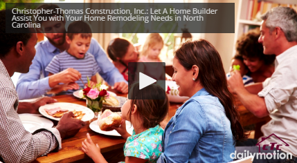 Let Our Home Builders Help You with Your Home Remodeling Needs in the North Carolina Area