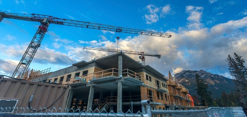 Commercial construction in Raleigh, North Carolina